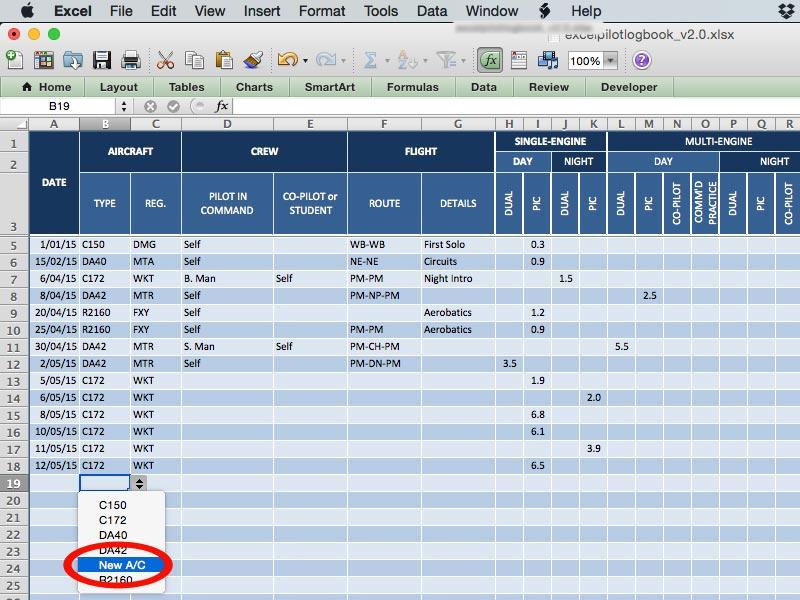 Pilot Logbook Software For Mac