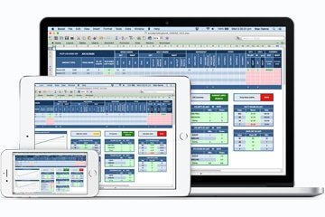 Excel Pilot Logbook - Sync ipad iphone android