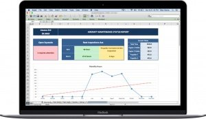 Excel-Aircraft-Maintenance-Tracker-Overview