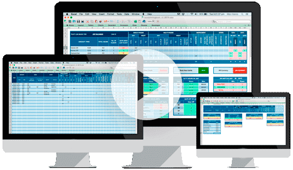 Excel Pilot Logbook - Professional Logbook Spreadsheet